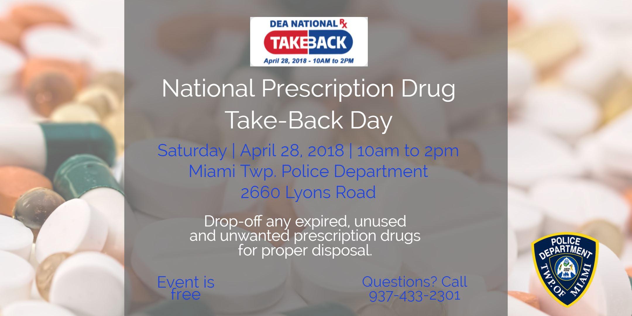 Drug Take Back April 2018